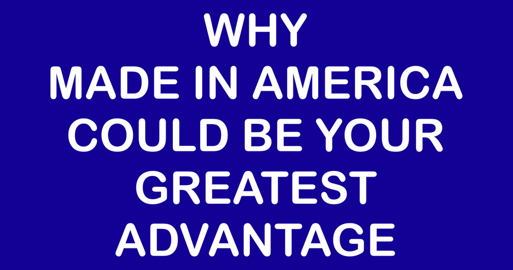 Our Made In America White Paper